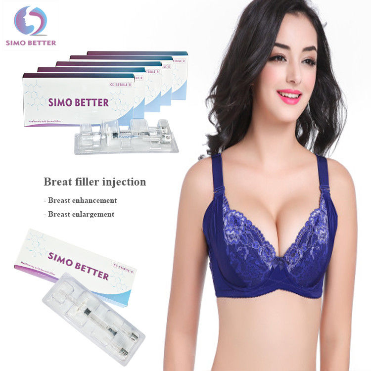 Injectable Hyaluronic Acid Breast Filler Optional Capacity With Prefilled Syringe