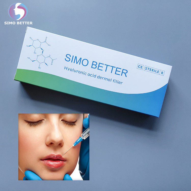 HA Syringe Injectable Dermal Fillers Non Surgical Liquid Gel Cross - Linked