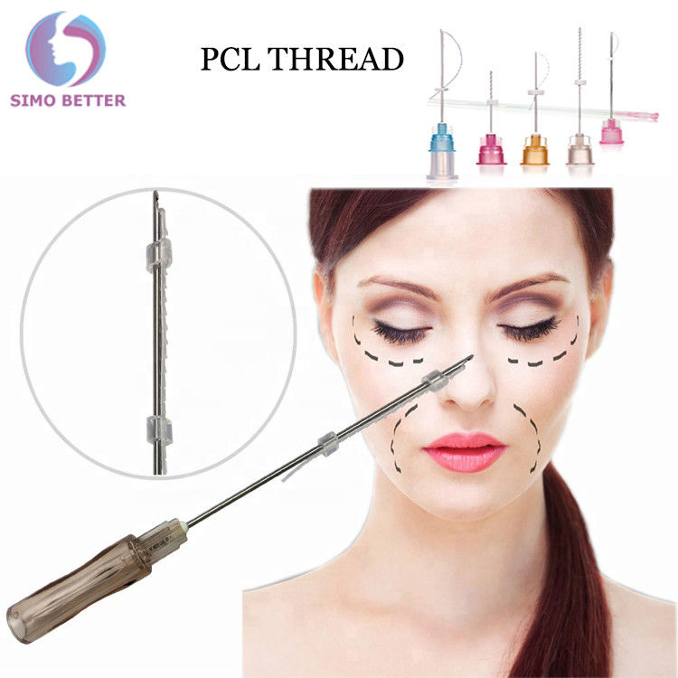 Anti - Aging Soft Cosmetic Surgery Facelift Thread Blunt Nose Needles